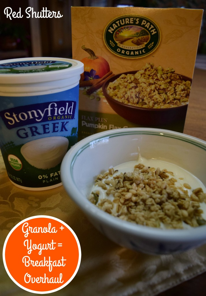 breakfast stonyfield nature's path
