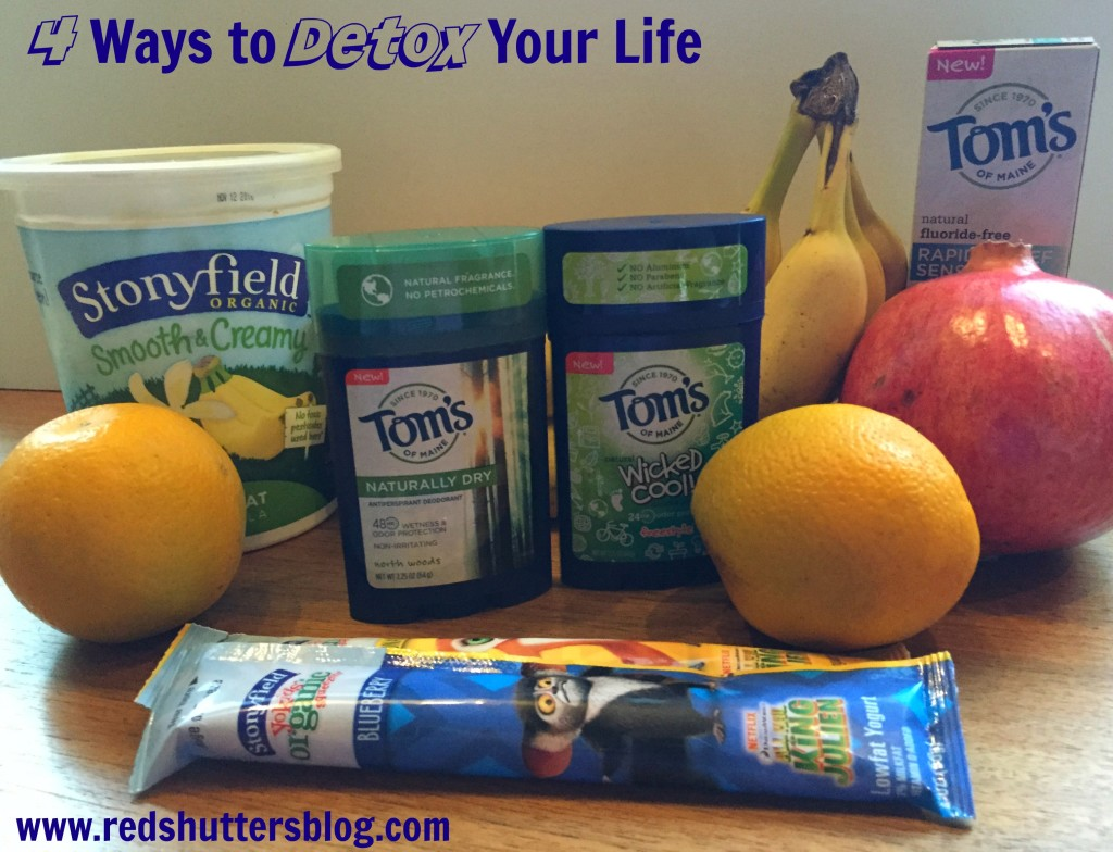 4 ways to detox your life